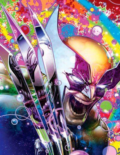 Wolverine (Vol 7) #8 (Clayton Crain Virgin Black Light Variant) - February 2021