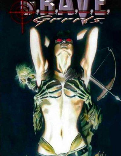Grave Grrrls #1 (Alex Ross Variant) - March 2005