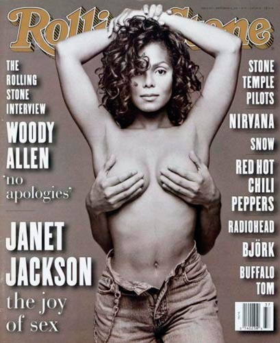 Janet Jackson Rolling Stone #665 (September 1993) Homage Covers