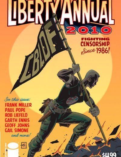 CBLDF Presents Liberty Annual 2010 - October 2010