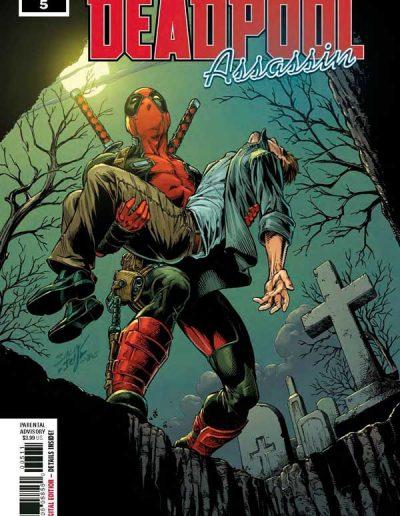 Deadpool Assassin #5 - October 2018
