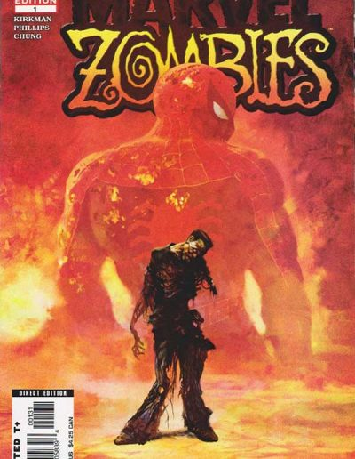 Marvel Zombies #1 (3rd Printing) - January 2006