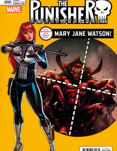The Punisher (Vol 11) #13 (Mary Jane Watson Variant) - August 2017