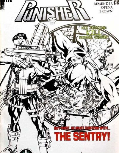 Punisher (Vol 8) #1 (Atomic Comics Hero Initiative) - March 2009