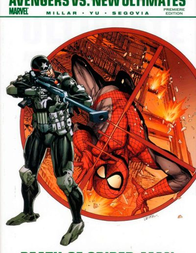 Avengers vs New Ultimates: Death of Spiderman (Premiere Edition HC) - September 2011
