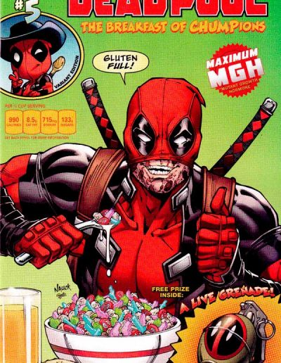 Deadpool (Vol 5) #5 (NYCC Retailer Breakfast Giveaway) - December 2018