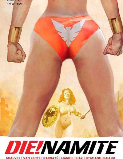 Die!namite #5 (Arthur Suydam Variant) - February 2021