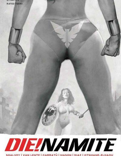 Die!namite #5 (Arthur Suydam Grayscale Variant) - February 2021