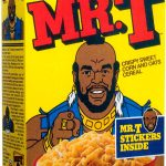 Breakfast Cereal Box Homage Covers