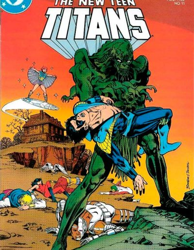 The New Teen Titans (Vol 2) #11 - August 1985