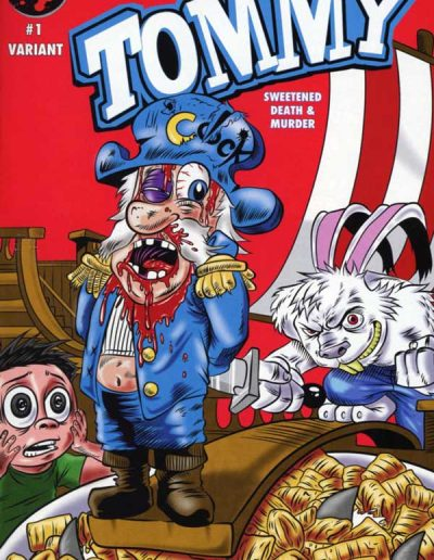 Tommy: Cereal Killer #1 (B Variant) - March 2016