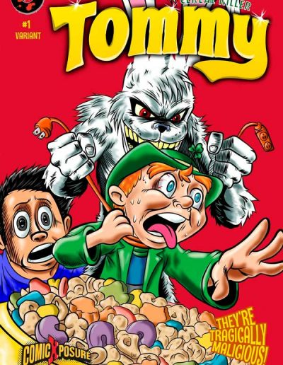 Tommy: Cereal Killer #1 (ComicXPosure Variant) - March 2016