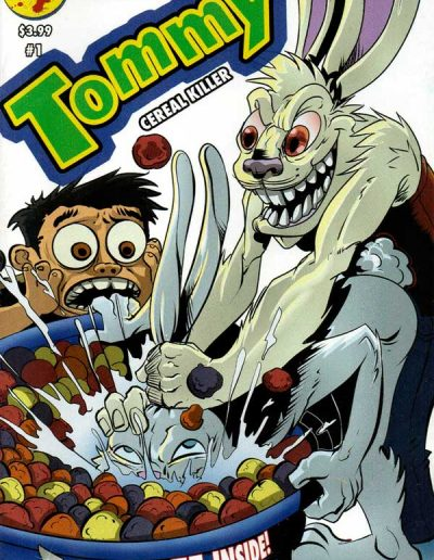 Tommy: Cereal Killer #1 (Glow-in-the-Dark Variant) - March 2016