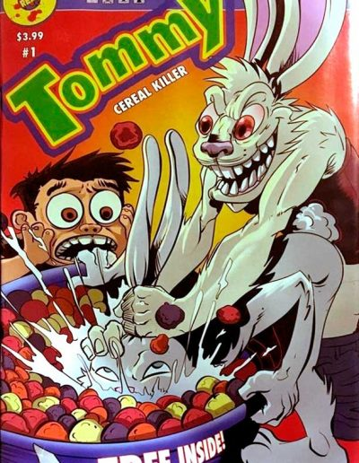 Tommy: Cereal Killer #1 (Secret Pants Down Variant) - March 2016