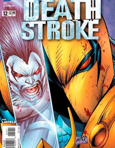 Deathstroke (Vol 2) #12 - October 2012