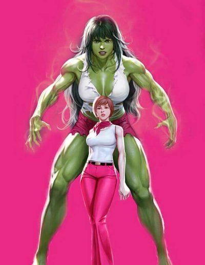 Immortal She-Hulk #1 (In-Hyuk Lee Virgin Variant) - November 2020