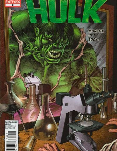 The Incredible Hulk (Vol 3) #2 (Mike Deodato, Jr. Variant) - January 2012