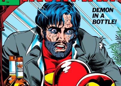 Iron Man #128 (Demon in a Bottle) Homage Covers