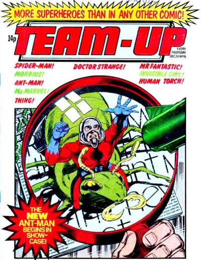 Marvel Team-Up Magazine (UK) - December 24, 1980