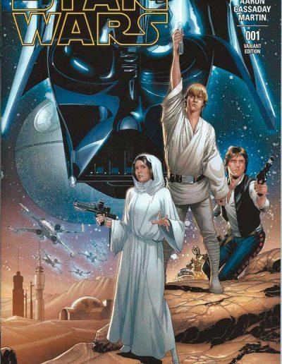 Star Wars (Vol 3) #1 (Dallas FanExpo Variant) - March 2015