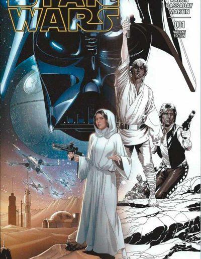 Star Wars (Vol 3) #1 (Dallas FanExpo Sketch Variant) - March 2015