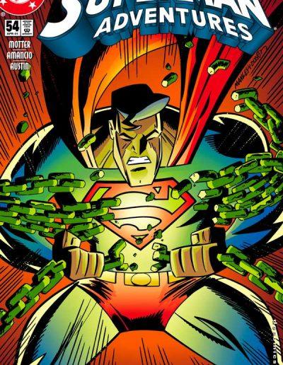 Superman Adventures #54 - April 2001