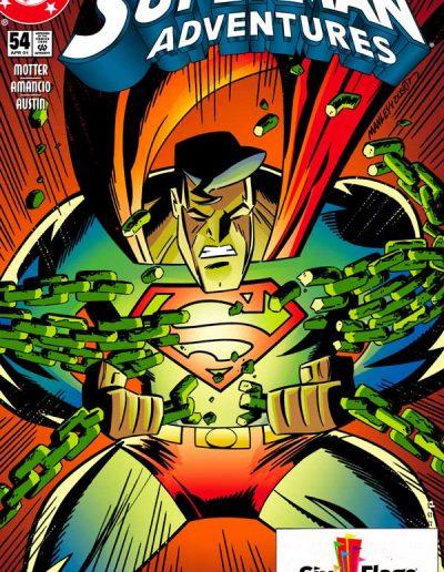 Superman Adventures #54 (Six Flags Variant) - April 2001