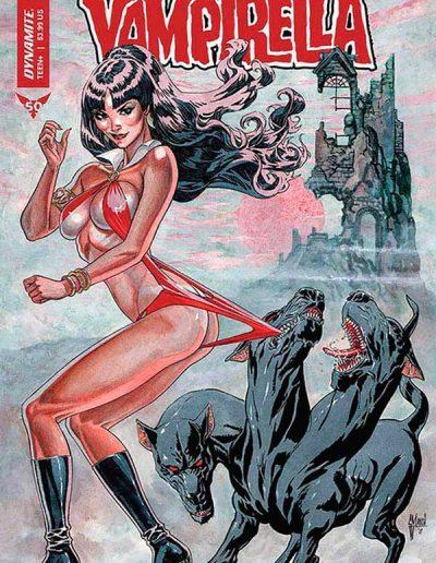 Vampirella (Vol 9) #7 (Guillem March Variant) - January 2020