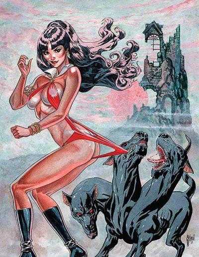 Vampirella (Vol 9) #7 (Guillem March Virgin Variant) - January 2020