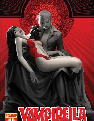 Vampirella (Vol 5) #7 (Kevic-Djurdjevic Variant) - July 2011
