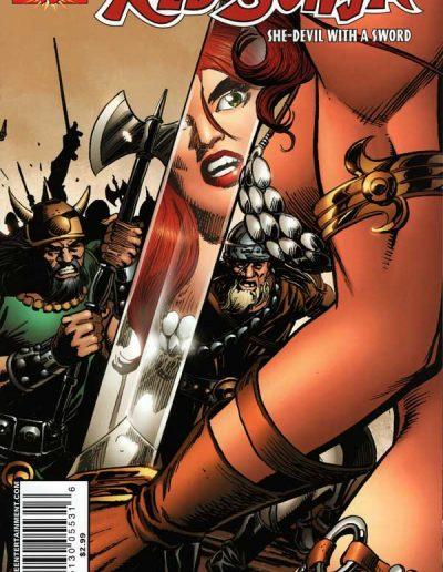 Red Sonja (Vol 4) #16 (Giordano Variant) - November 2006