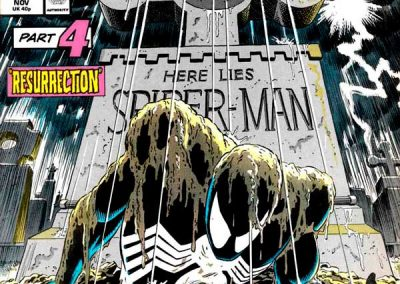 Web of Spiderman #32 Homage Covers