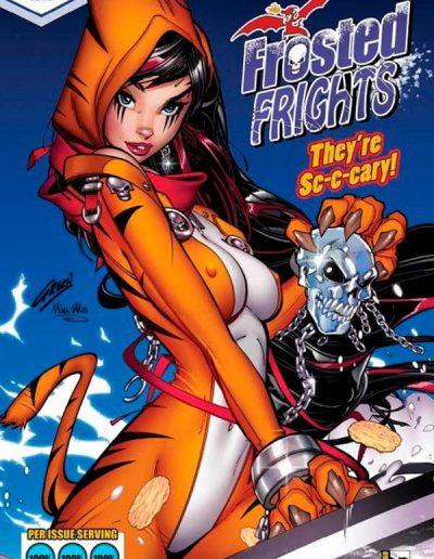 Belle vs Black Knight #1 (Paul Green Frosted Frights Cereal San Diego Con Exclusive)- June 2020