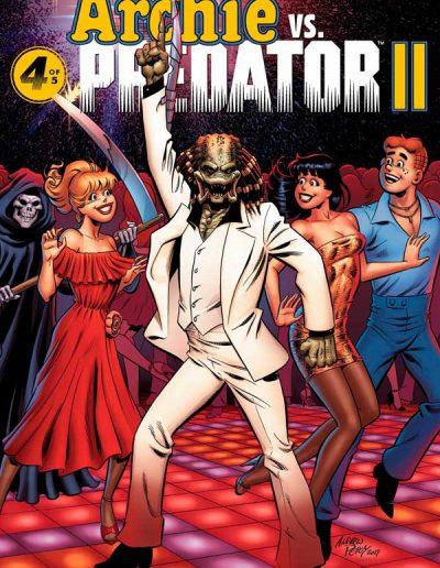 Archie vs Predator II (Andrew Pepoy/Laura Martin Variant) - November 2019