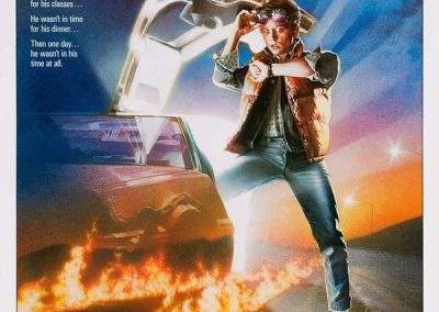Back to the Future (Movie Poster) Homage Covers