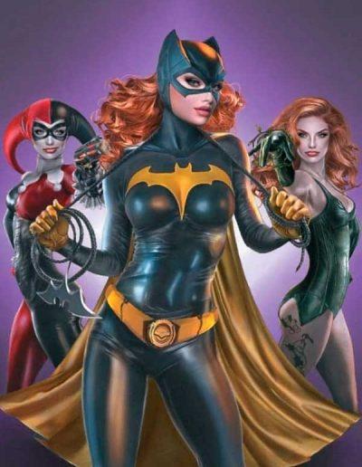 Batman: The Adventures Continue (Season II) #1 (Natalie Sanders Virgin Variant) - June 2021
