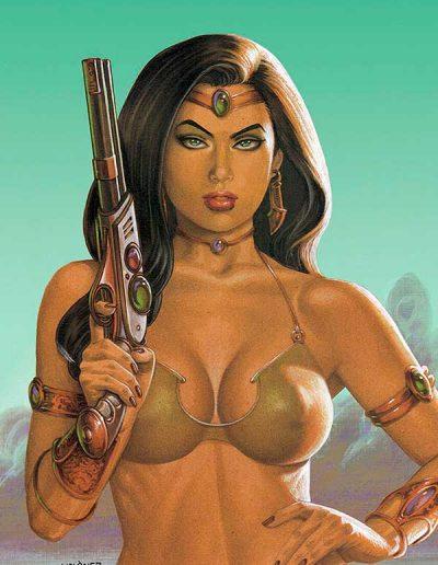 Dejah Thoris (Vol 3) #12 (Linsner Martian Virgin Variant) - May 2021