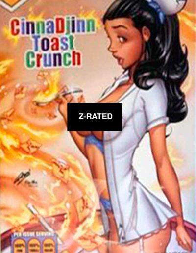 Grimm Fairy Tales (Vol 2) #46 (Paul Green CinnaDjinn Toast Crunch Cereal Z-Rated Variant) - March 2021