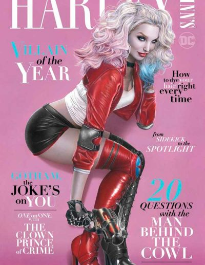 Harley Quinn's Villain of the Year #1 (Natali Sanders KRS Exclusive Variant) - February 2020