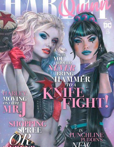 Harley Quinn (Vol 3) #75 (Natali Sanders Trade Dress Variant) - September 2020