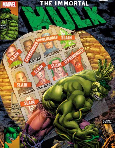 Immortal Hulk #46 (Joe Bennett Homage) - July 2021
