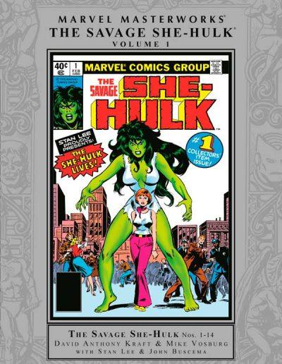 Marvel Masterworks: Savage She-Hulk #1 (Book Market Edition) - August 2017