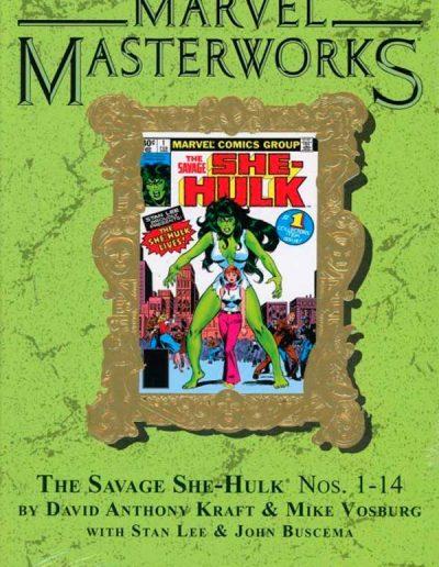Marvel Masterworks #246: Savage She-Hulk 1-14 (Direct Market Edition) - August 2017