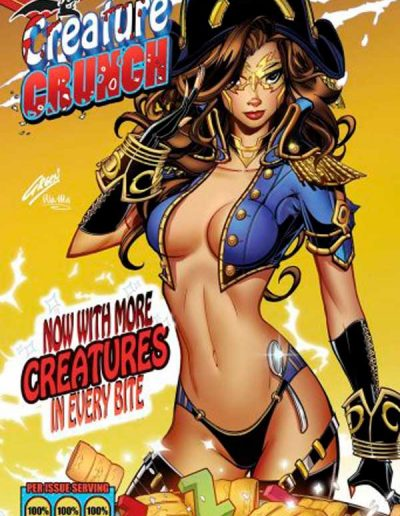 Red Agent: Island of Dr. Moreau #5 (Paul Green Creature Crunch Cereal Zenbox Variant) - June 2020