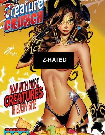 Red Agent: Island of Dr. Moreau #5 (Paul Green Creature Crunch Cereal Z-Rated Showcase Variant) - June 2020