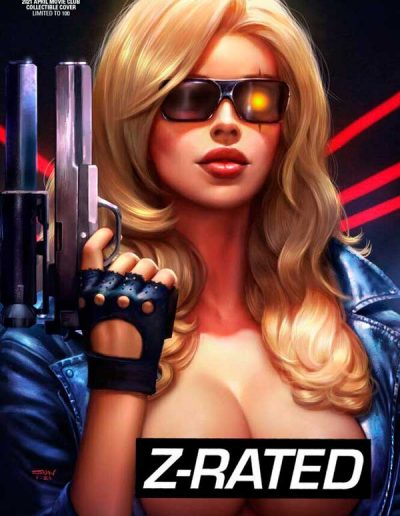 Robyn Hood: Iron Maiden #2 (Sun Khamunaki Movie Club Z-Rated Variant) - April 2021
