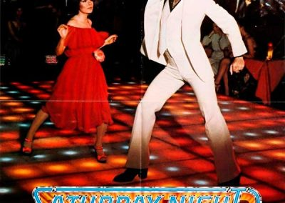 Saturday Night Fever (Movie Poster) Homage Covers