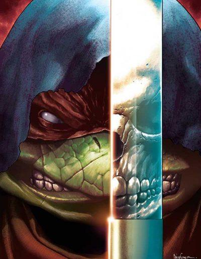 Teenage Mutant Ninja Turtles: Ronin #1 (Mico Suayan Virgin Variant) - October 2020