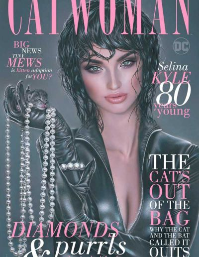 Catwoman: 80th Anniversary 100-Page Super Spectacular (Natali Sanders Trade Variant) - June 2020
