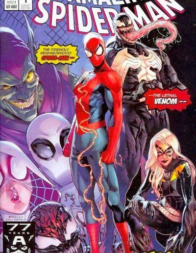 Amazing Spiderman (Vol 5) #1 (Jamal Campbell Trade Dress Typeface Variant) - September 2018